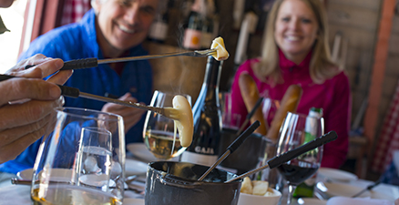 cloud nine 9 snowcat dinners aspen highlands on mountain food and beverage