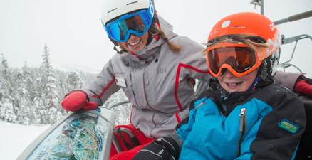 Ski School Group Lesson Lessons Ages 7 to 12