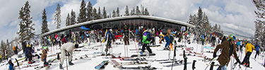 Where to Meet Highlands Merry Go Round Ski School Lessons